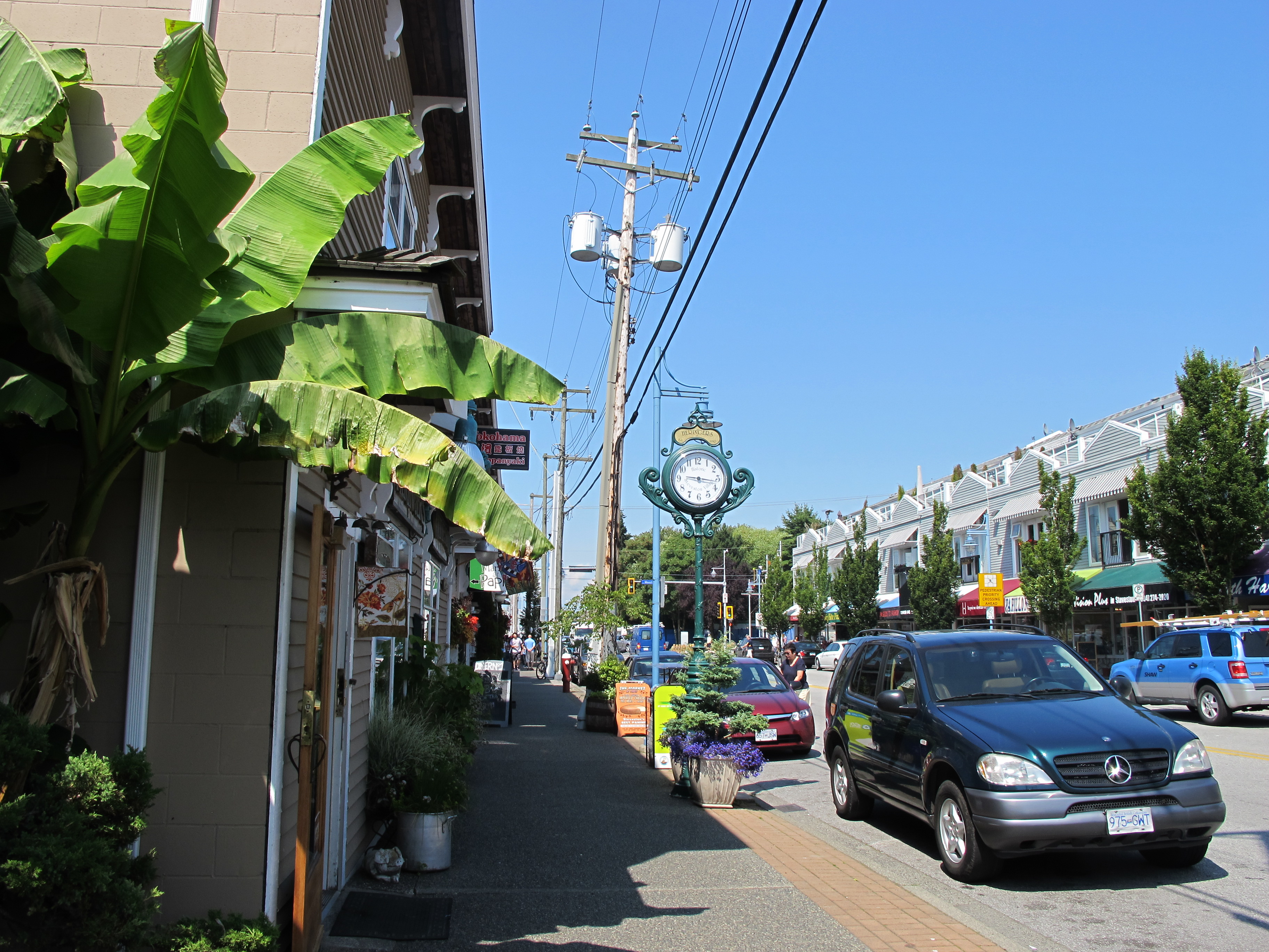 Good Day Sunshine Old Florida Village : Steveston a day out at the seaside eats shoots and